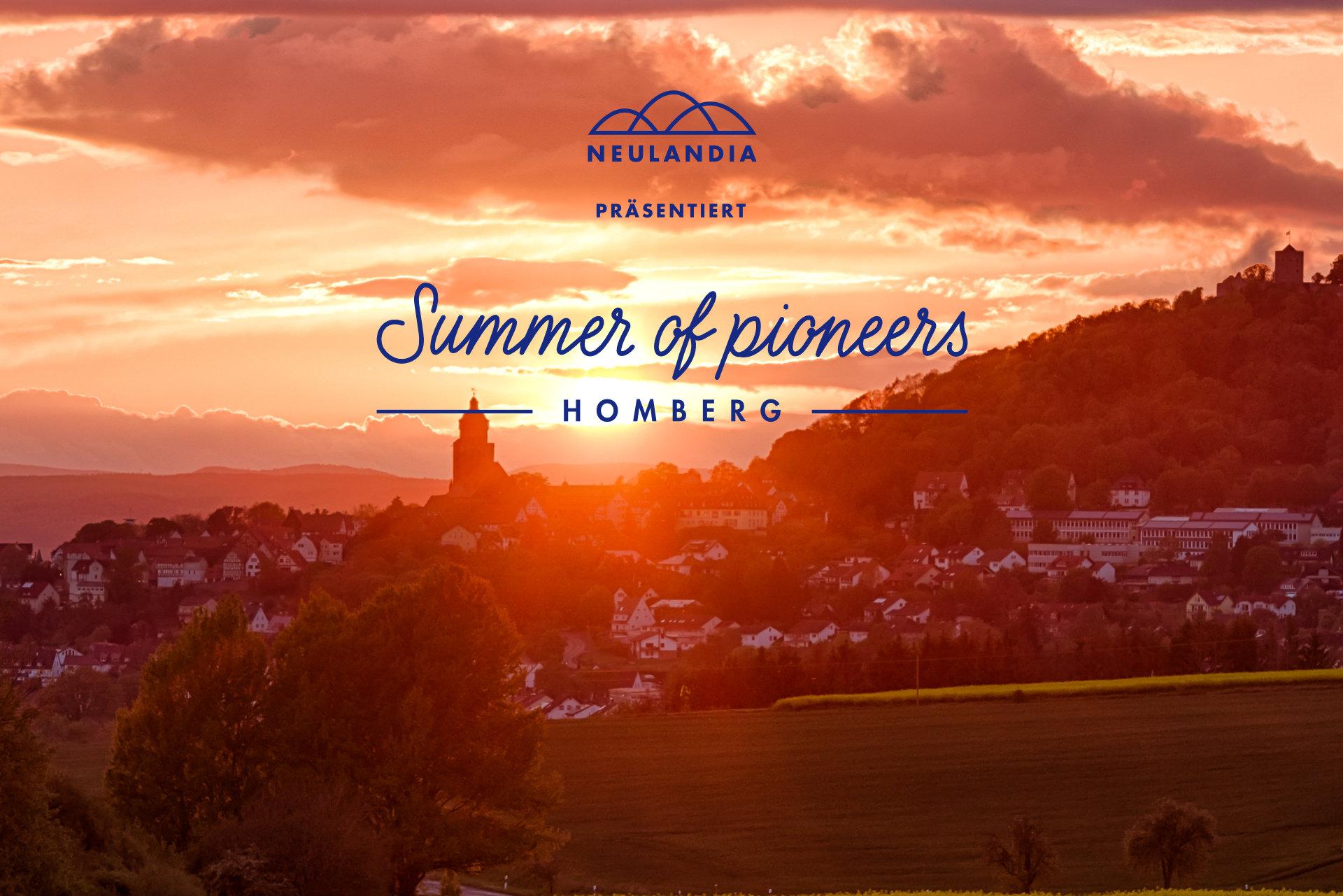Summer of Pioneers Homberg